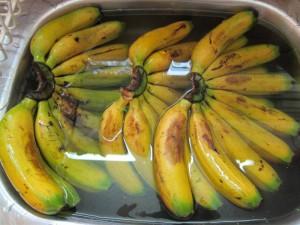 Bananer i vinägerbad